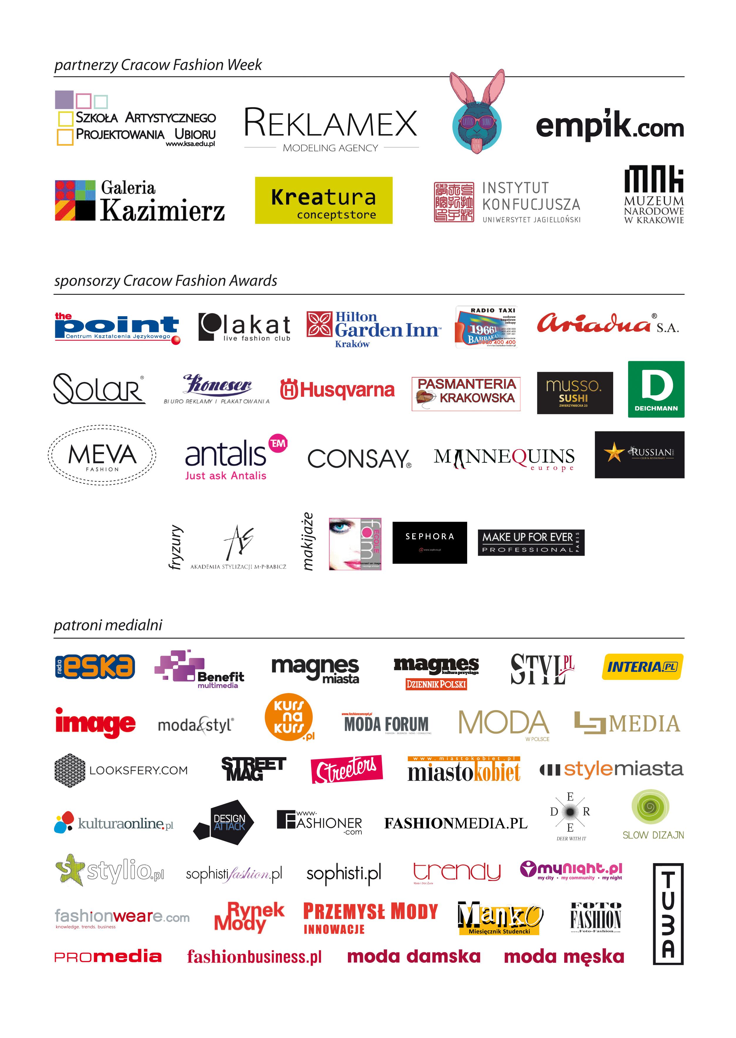 Konferencja prasowa przed cracow fashion awards i wystawa w galerii